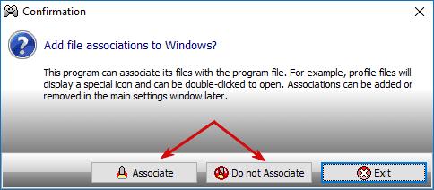Установка: файл с настройками